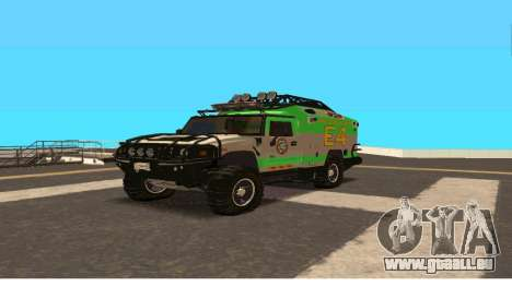 Hummer H2 Ratchet Transformers 4 pour GTA San Andreas