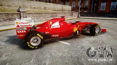 Ferrari 150 Italia Alonso pour GTA 4 est une gauche