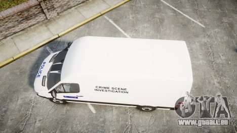 Mercedes-Benz Sprinter 311 cdi London Police für GTA 4 rechte Ansicht