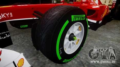 Ferrari F138 v2.0 [RIV] Massa TIW pour GTA 4 Vue arrière
