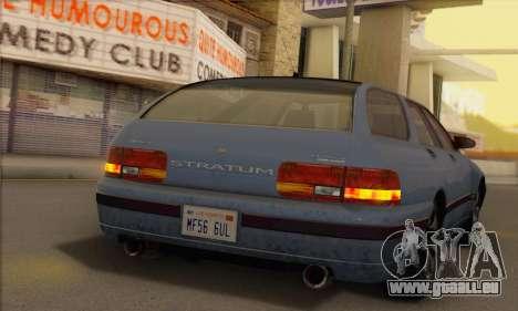 GTA 5 Stratum pour GTA San Andreas sur la vue arrière gauche