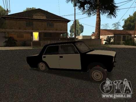 CES 2107 Hobo pour GTA San Andreas laissé vue