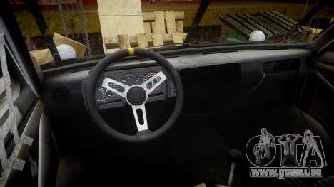 Kessler Stowaway Rusty pour GTA 4 Vue arrière