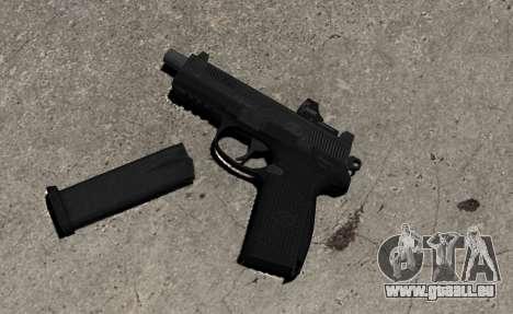 Pistolet FNP-45 pour GTA 4