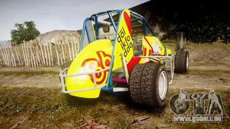 Larock-Sprinter Dalikfodda pour GTA 4 Vue arrière de la gauche