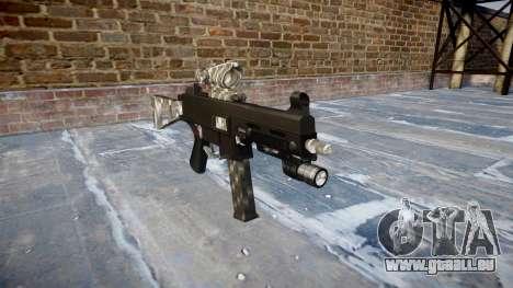 Pistolet UMP45 en Fibre de Carbone pour GTA 4