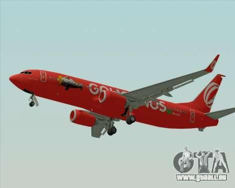 Boeing 737-800 Gol Transportes Aéreos für GTA San Andreas rechten Ansicht