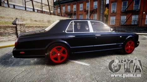 Bentley Arnage T 2005 Rims4 pour GTA 4 est une gauche