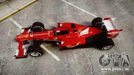 Ferrari F138 v2.0 [RIV] Alonso TMD pour GTA 4 est un droit
