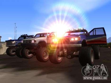 Neue Texturen Monster für GTA San Andreas für GTA San Andreas