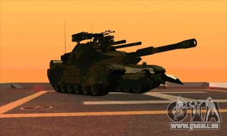 M1A1 Abrams Brawl (Transformers) pour GTA San Andreas laissé vue