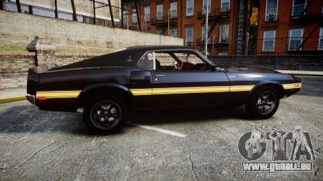 Shelby GT500 428CJ CobraJet 1969 für GTA 4 linke Ansicht