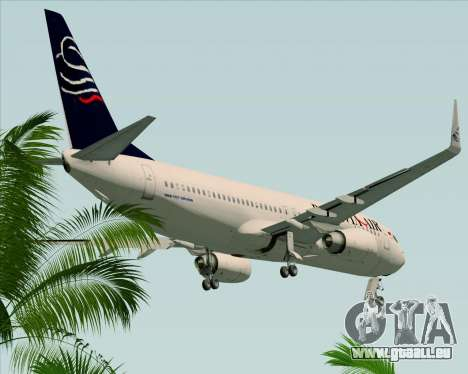Boeing 737-800 Batavia Air für GTA San Andreas Seitenansicht