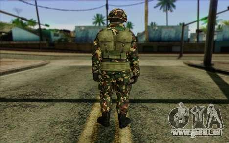 The Expendables 2 Enemy pour GTA San Andreas deuxième écran