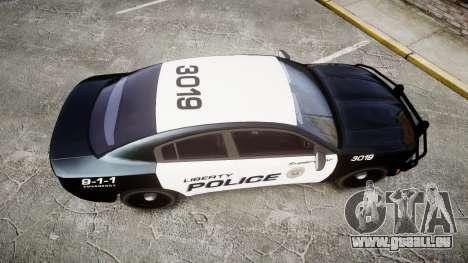 Dodge Charger 2015 LPD CHGR [ELS] pour GTA 4 est un droit