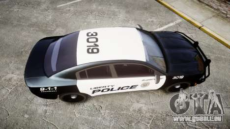 Dodge Charger 2015 LPD CHGR [ELS] für GTA 4 rechte Ansicht