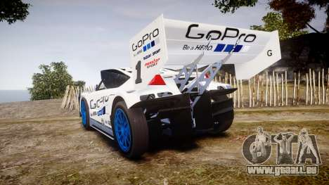 Suzuki Monster Sport SX4 2011 für GTA 4 hinten links Ansicht