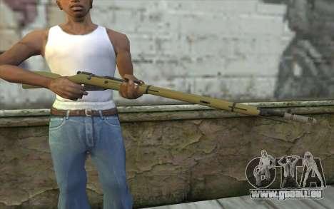 Die Gewehre Mosin-v7 für GTA San Andreas dritten Screenshot