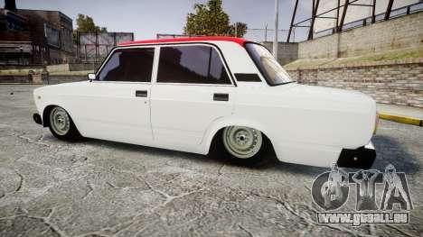 VAZ-2107 Italie pour GTA 4 est une gauche