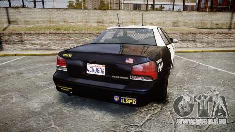 GTA V Vapid Cruiser LSP [ELS] Slicktop für GTA 4 hinten links Ansicht