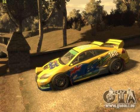 Mitsubishi Eclipse GT Rallycross für GTA 4 rechte Ansicht