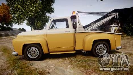 Vapid Tow Truck Jackrabbit v2 für GTA 4 linke Ansicht