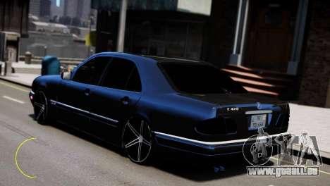 Mercedes-Benz E55 AMG pour GTA 4 est un droit
