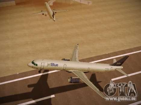 Airbus A321-232 jetBlue Woo-Hoo jetBlue pour GTA San Andreas vue arrière