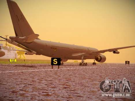 Airbus KC-45A (A330-203) Australian Air Force für GTA San Andreas Rückansicht