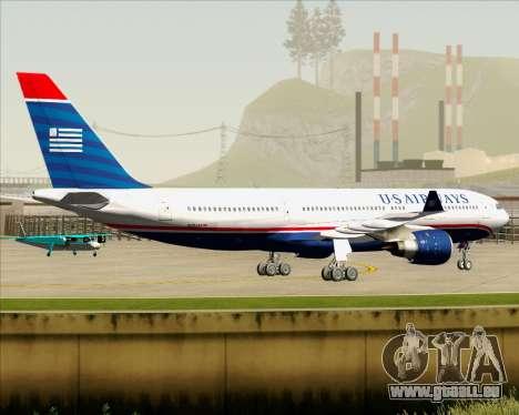Airbus A330-200 US Airways für GTA San Andreas Rückansicht