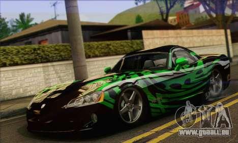 Dodge Viper SRT 10 für GTA San Andreas