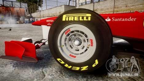 Ferrari 150 Italia Track Testing pour GTA 4 est une vue de l'intérieur