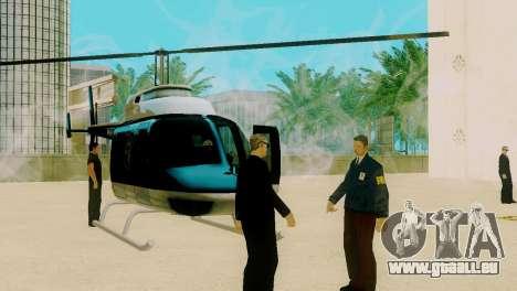 La renaissance de tous les postes de police pour GTA San Andreas troisième écran