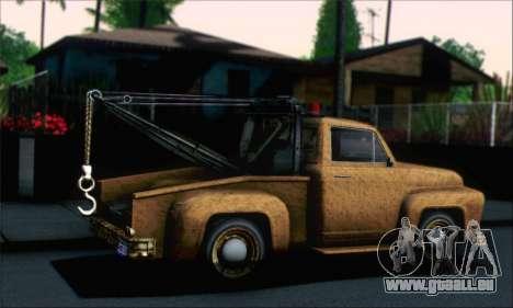 GTA 5 Towtruck Worn für GTA San Andreas linke Ansicht