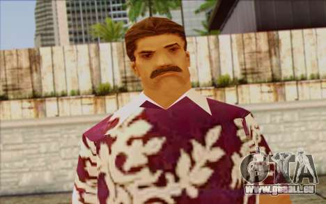 Diaz Gang from GTA Vice City Skin 1 für GTA San Andreas dritten Screenshot