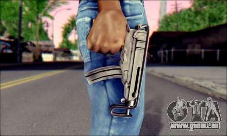 Škorpion vz. 61 pour GTA San Andreas troisième écran
