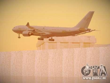 Airbus KC-45A (A330-203) Australian Air Force für GTA San Andreas Räder