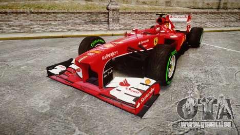 Ferrari F138 v2.0 [RIV] Massa TIW pour GTA 4