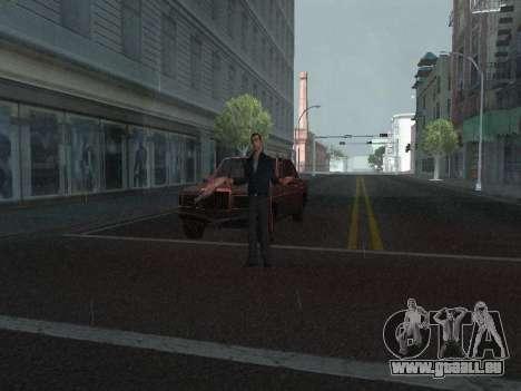 Ändern Bereiche von Banden und Ihre Waffen für GTA San Andreas zweiten Screenshot