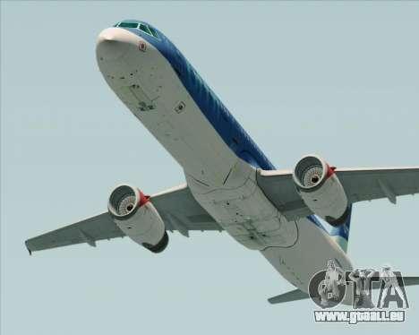 Airbus A321-200 British Midland International pour GTA San Andreas sur la vue arrière gauche