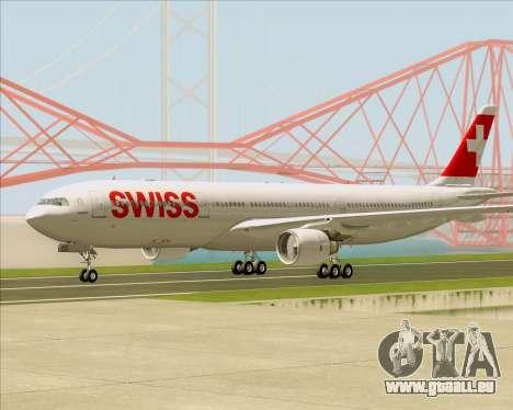 Airbus A330-300X Swiss International Air Lines für GTA San Andreas rechten Ansicht