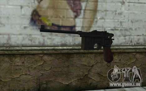 Mauser C96 v2 für GTA San Andreas