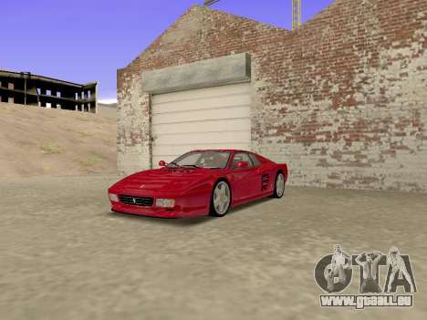Ferrari 512TR für GTA San Andreas