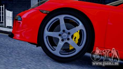RUF RGT-8 für GTA 4 hinten links Ansicht
