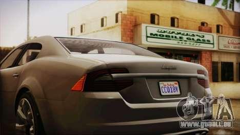 Lampadati Felon (IVF) pour GTA San Andreas vue de droite