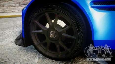 Aston Martin Vantage GTE Nico Yazawa pour GTA 4 Vue arrière