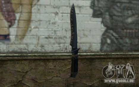 Knife from CS:S Bump Mapping v2 pour GTA San Andreas