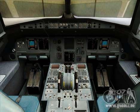 Airbus A320-212 Condor für GTA San Andreas Innen