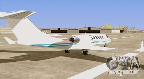 Buckingham Shamal GTA V für GTA San Andreas linke Ansicht
