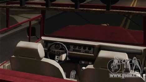 Canis Bodhi V1.0 Rusty für GTA San Andreas zurück linke Ansicht
